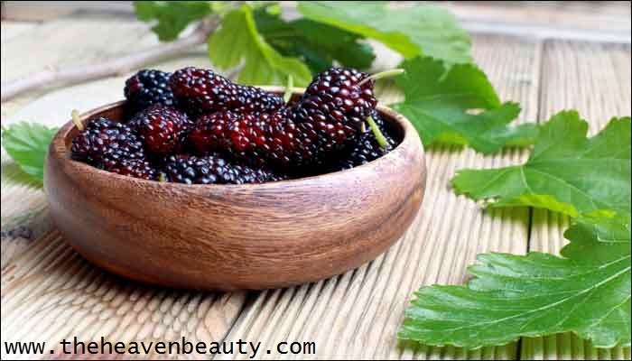 Skin pigmentation - mulberries and honey