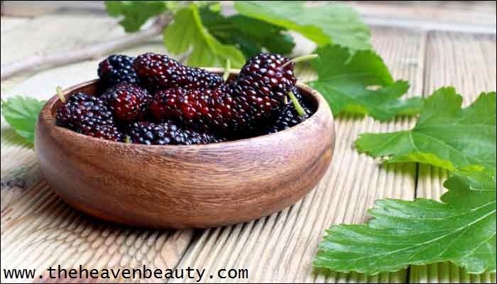 Skin pigmentation - mulberries and honey