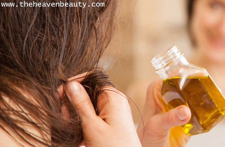 Hair thickening oils