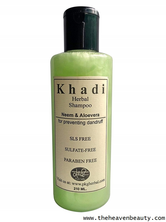 Anti-dandruff shampoo - Khadi herbal neem and aloe vera shampoo