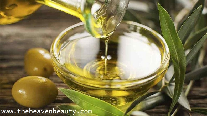 Olive oil with Aloe Vera gel for wild hair growth