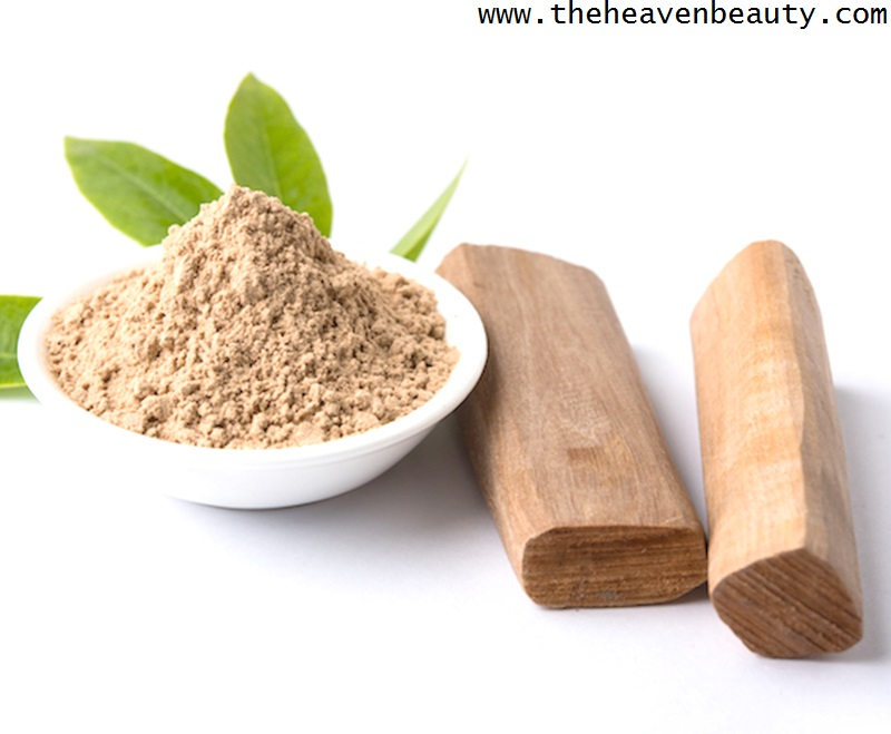 Skin pigmentation - Sandalwood powder and Rose water