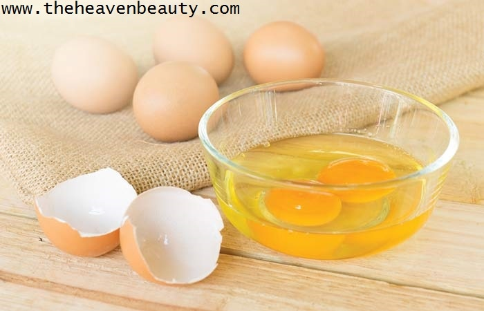 eggs are good for your skin as well as your hair - weird beauty tricks