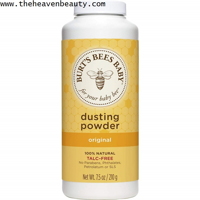 Best baby powder -Burt's bees baby dusting powder
