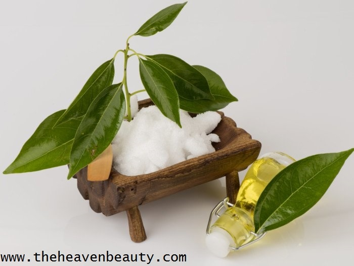 Camphor for curing dandruff with coconut or castor oil