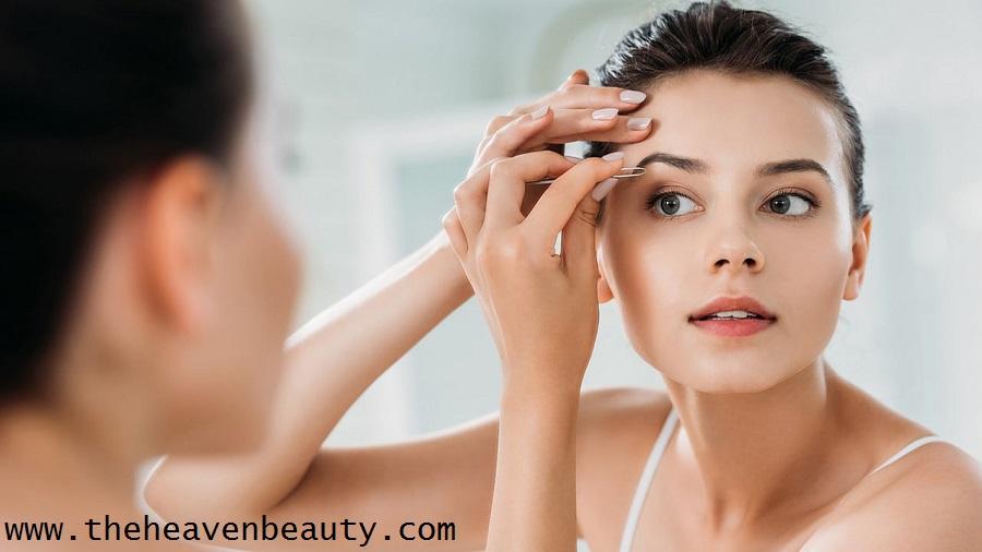 Remove facial hairs before bridal makeup