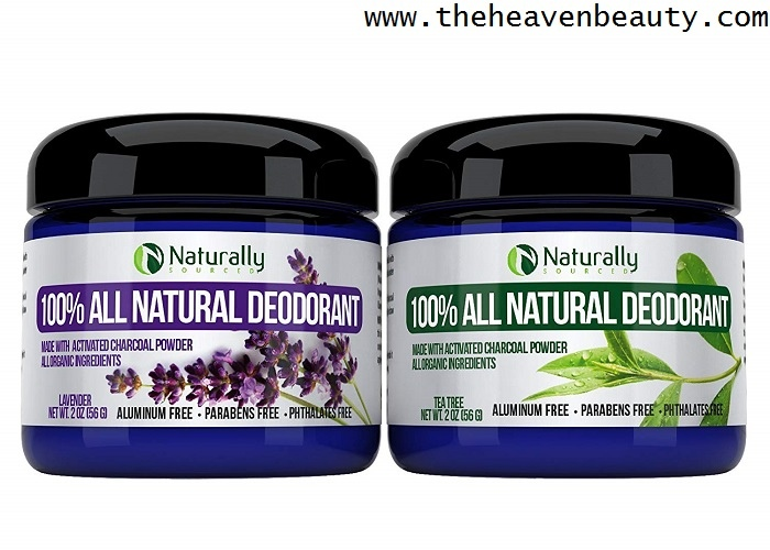 Natural deodorants