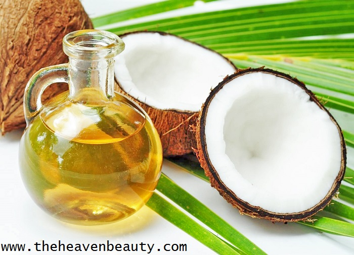 Massage oils for babies - coconut oil
