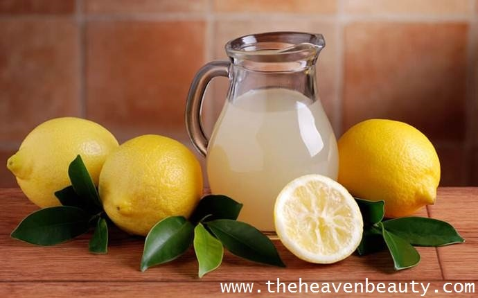 NATURAL HAIR PACKS - lemon juice and yogurt
