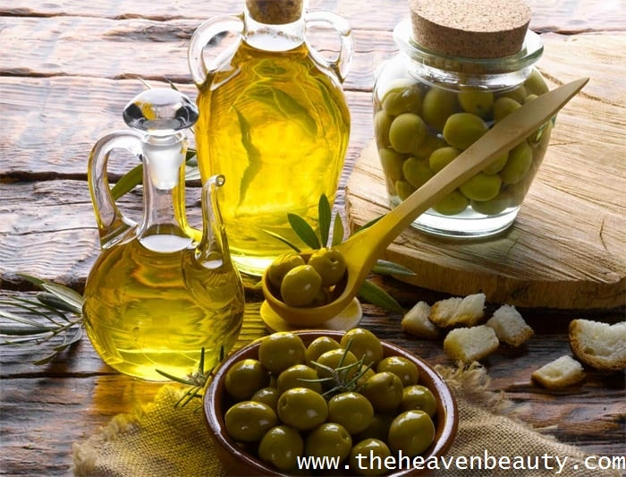 Olive oil to treat dark neck