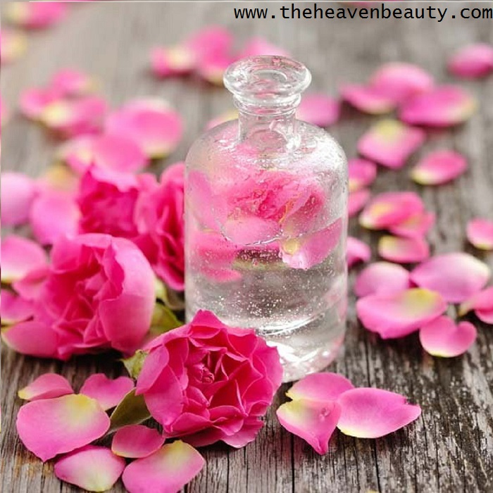 prevent sweat in hair - rose water
