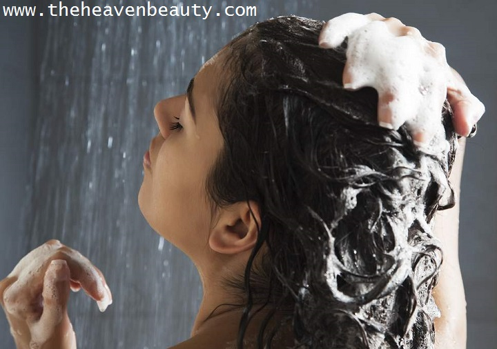 prevent sweat in hair - hair wash