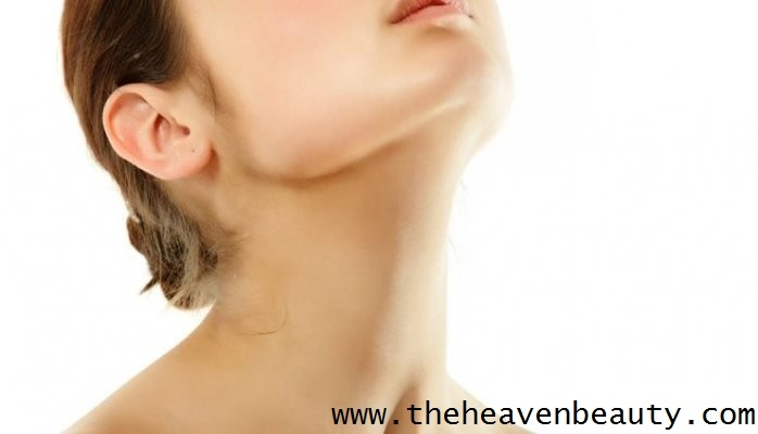 Massage to remove double chin