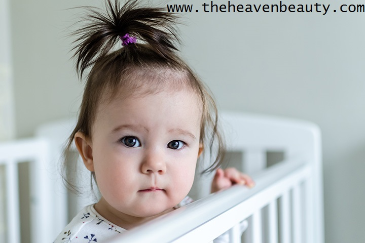Fountain Hairdo for simple baby hairstyle