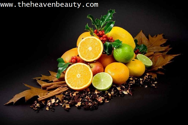 various fruits for glowing skin