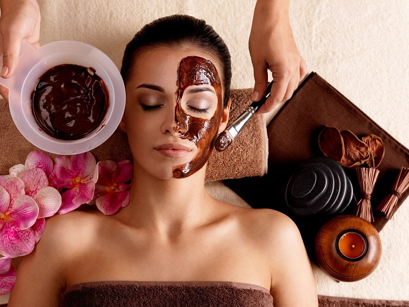 Chocolate face masks for flawless skin