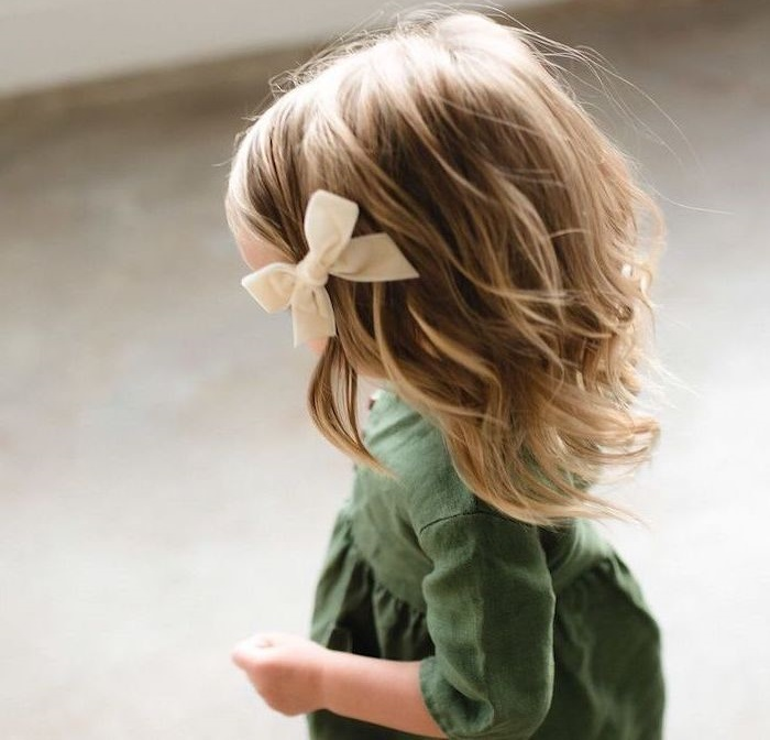 Baby hairstyle for small hair girls