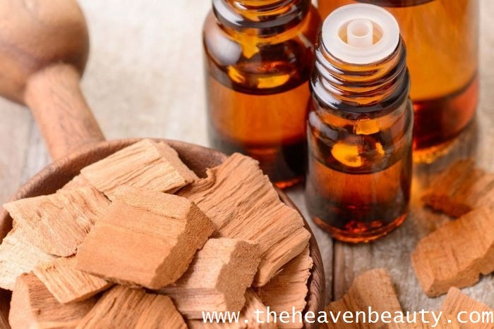 Sandalwood essential oil for beard growth