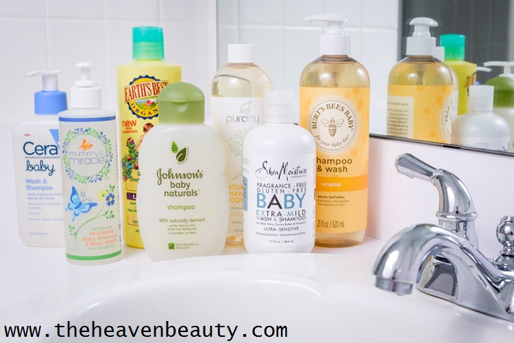 baby shampoo as a face wash