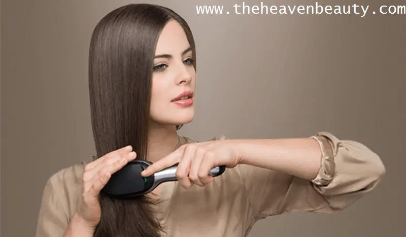 Hair brush for all hair types