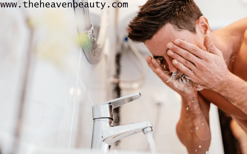 Natural face wash for men