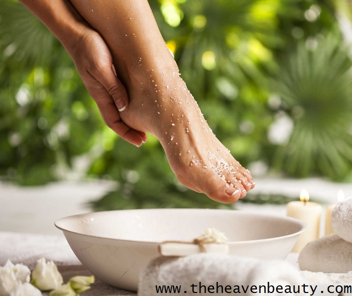 scrub - monsoon foot care tip