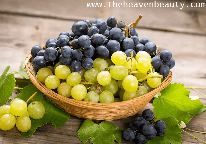 Grape juice as a natural face wash for men