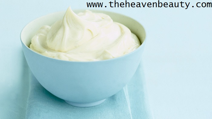 Hair mask for colored hair - mayonnaise
