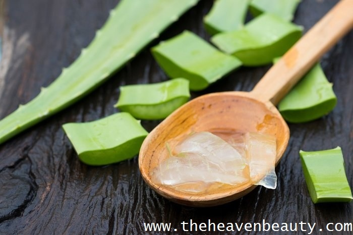 Aloe Vera gel - Homemade hair serum