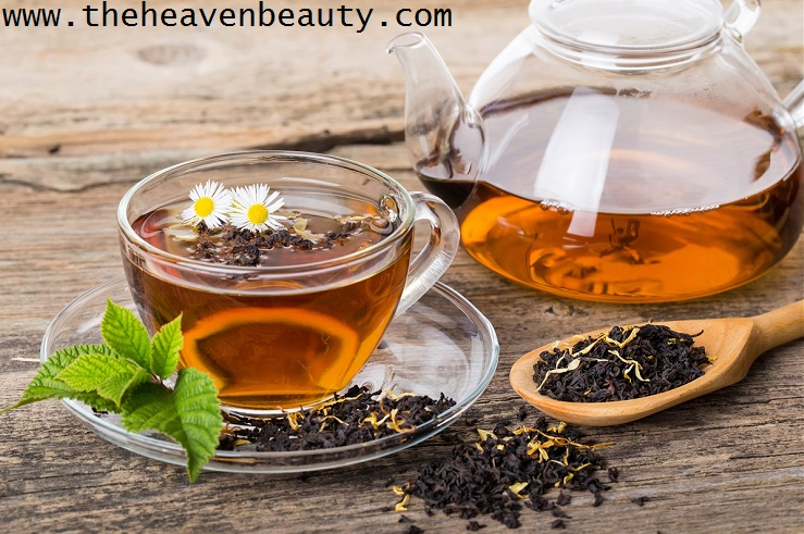 Black tea - Homemade hair serum