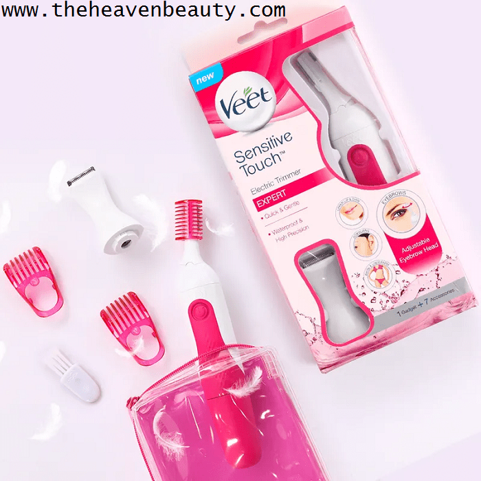 Best facial hair removal products - Veet sensitive touch electric trimmer