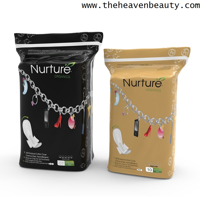 Best sanitary pads - Nurture 100% natural