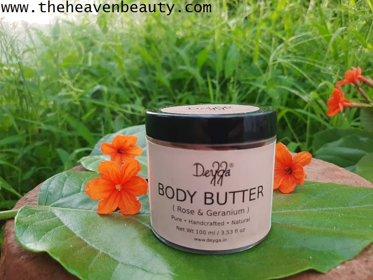 Rose & Geranium Body Butter