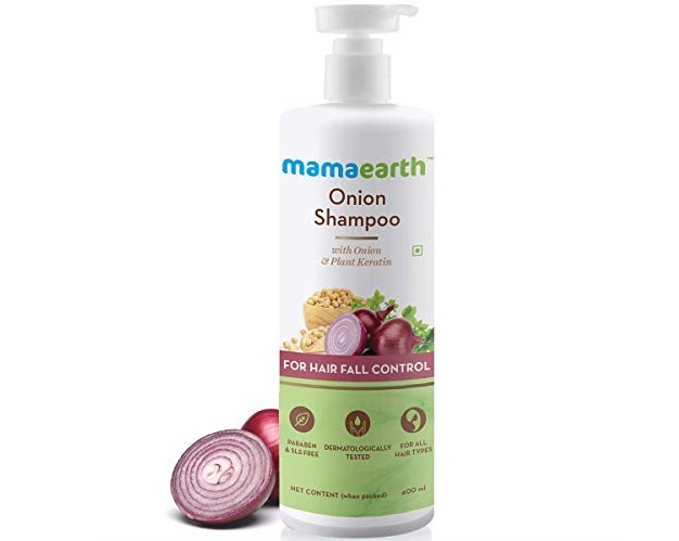 Mamaearth onion shampoo for hair growth