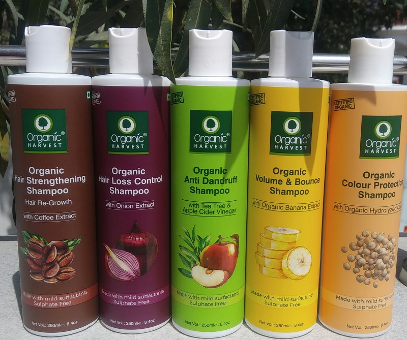 Organic Harvest Shampoo Review – Certified Organic